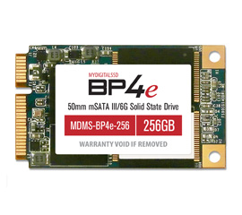 MyDigitalSSD BP4e Bullet Proof 4 Eco mSATA SSD